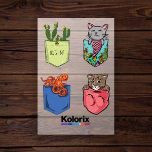 Folie Film Transfer Kolorix